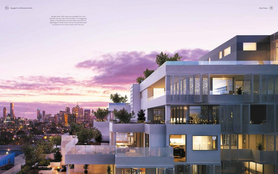 RICHMOND MELBOURNE – APTS SUR PLAN